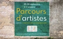 Wavre | Parcours d'artistes 25-26 septembre & 2-3 octobre 2021